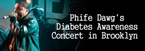 Jay Electronica performs live at the Phife Dawg Diabetes Benefit Concert in Brooklyn