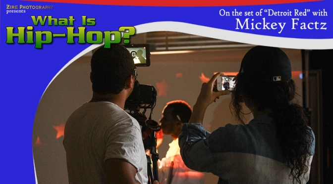 TWIHHP - On the set of Detroit Red with Mickey Factz