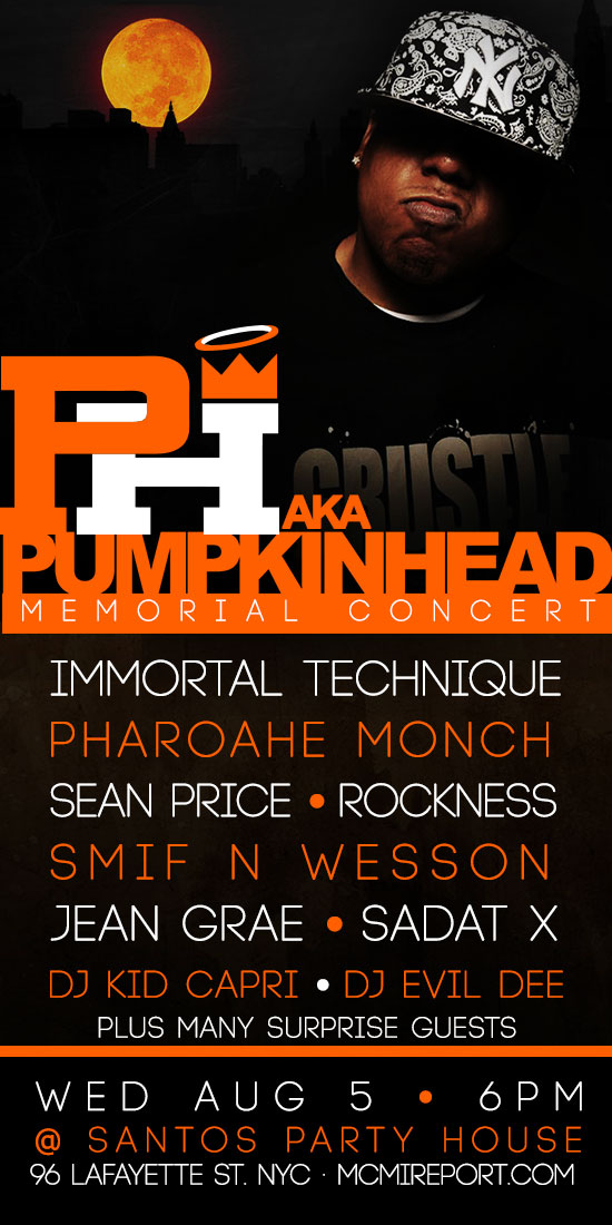 PH (aka Pumpkinhead) MEMORIAL TRIBUTE CONCERT