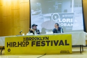 "Daryl Khan and Robert Stolarik discuss their film ""Criminal Justice: The Battle of Marianna at the Brooklyn Hip-Hop Institution Conference"