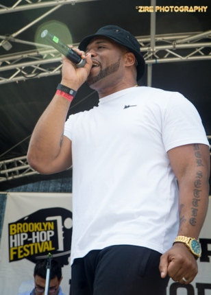 Rapper Torae hosts the 11th Annual Brooklyn Hip-Hop Festival held at Williamsburg Park on July 11, 2015 in Brooklyn, NY