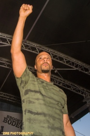 Rapper Common expresses hip-hop still has his heart as he performs at the 11th Annual Brooklyn Hip Hop Festival held at Williamsburg Park on July 11, 2015 in Brooklyn, NY
