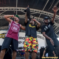 Rapper Skyzoo peforms at the 11th Annual Brooklyn Hip-Hop Festival held at Williamsburg Park on July 11, 2015 in Brooklyn, NY