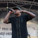 Scholito performs with Freeway at the 11th Annual Brooklyn Hip-Hop Festival held at Williamsburg Park on July 11, 2015 in Brooklyn, NY