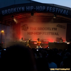 Rapper Common performs live at the 11th Annual Brooklyn Hip Hop Festival held at Williamsburg Park on July 11, 2015 in Brooklyn, NY