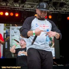 Ea$y Money performs at the Rock Steady Crew 38th Annual Celebration held on Sunday, July 26, 2015 at Central Park in New York City