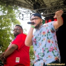 Immortal Technique, Diabolic, Tonedeff & Poison Pen pays tribute to Pumpkinhead at the Rock Steady Crew 38th Annual Celebration on Sunday, July 26, 2015 at Central Park in New York City