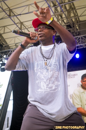 Reggie Reg of the Legendary Crash Crew gave a Live Performance at the Rock Steady Crew 38th Annual Celebration held on Sunday, July 26, 2015 at Central Park in New York City