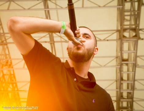 Your Old Droog Performs Live at the Rock Steady Crew 38th Annual Celebration held on Sunday, July 26, 2015 at Central Park in New York City