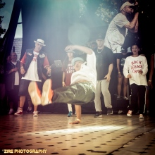 Atsushi Ats Kono Live Performance at the Rock Steady Crew 38th Annual Celebration held on Sunday, July 26, 2015 at Central Park in New York City