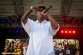 Big Daddy Kane invites the Legendary Rodney Stone of the Funky 4 + 1 to the stage to perform Live Performance at the Rock Steady Crew 38th Annual Celebration held on Sunday, July 26, 2015 at Central Park in New York City