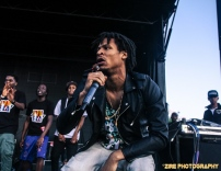 Pro Era on stage at Summerstage 2014