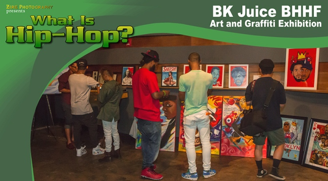 Breakin at the Bk Juice Hip-Hop Exhibition
