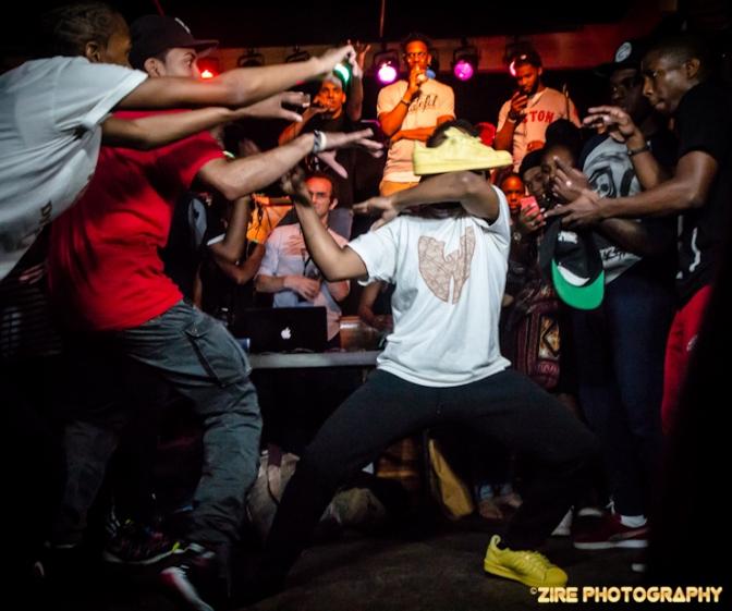 Breakin at the Bk Juice Hip-Hop Exhibition