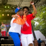 Live Performance at the Rock Steady Crew 38th Annual Celebration held on Sunday, July 26, 2015 at Central Park in New York City