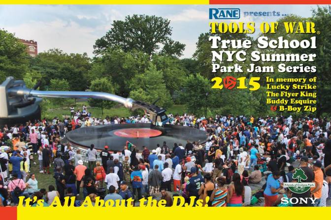 2015 Tools of War True School NYC Summer Park Jams