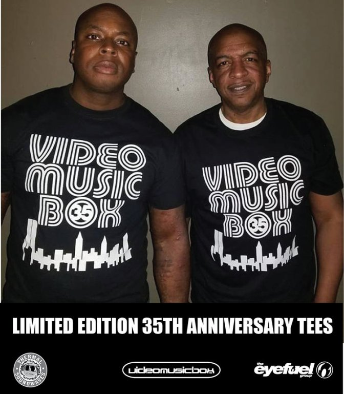 The Official Video Music Box 35th Anniversary Teeshirt